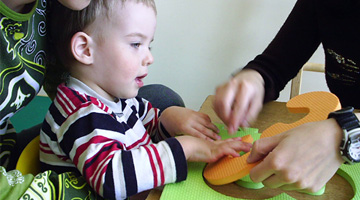Classes with a speech therapist and educationalist - Rehabilitation